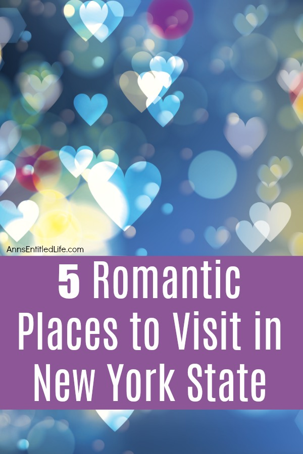 5 Romantic New York State Places to Visit. New York State is home to some of the most beautiful scenery – natural and man-made – in the United States. Visiting any of these spots provides the foundation for a special and romantic getaway. From big city tourist attractions to the breathtaking natural beauty of upstate New York, let the romance of a New York State getaway take you away.