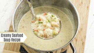 Creamy Seafood Soup Recipe