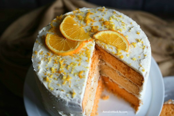 Orange Creamsicle Cake Recipe. This cake recipe brings back fond childhood memories of the amazing taste of an orange creamsicle. This is an easy, terrific way to dress-up a standard cake mix; your guests will never know this orange creamsicle cake was not made from scratch.