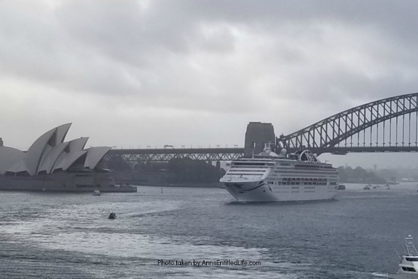 When Not to Go to Australia, by AnnsEntitledLife.com Stormy Sydney Harbor.