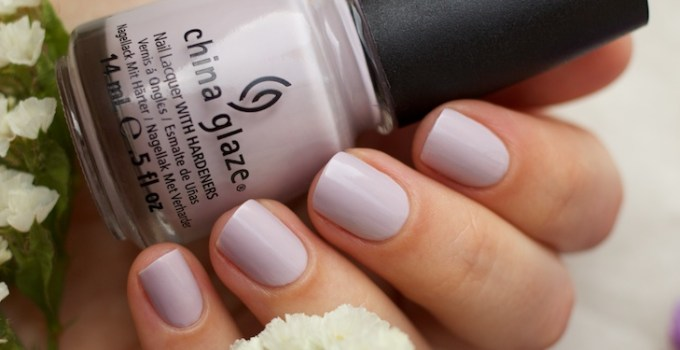 China Glaze - Light As Air swatches