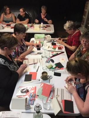 Bingo, Stampin' Up! style Ann's PaperWorks Ann Lewis #stampinup (Aus) Valentine's Day