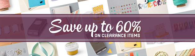 Clearance Rack Stampin' Up! Ann's PaperWorks Ann Lewis #stampinup (Aus)