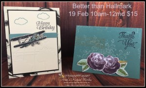 Stampin' Up! style Ann's PaperWorks Ann Lewis #stampinup (Aus)|card making class