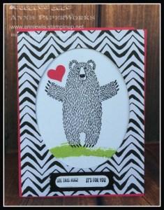 Bear Hugs Stamp Set and Bear Hugs Framelits dies,