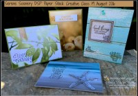 Serene Scenery Creative Card Class, Stampin' Up! Ann's PaperWorks Ann Lewis Stampin' Up! (Aus)