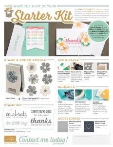 Starter Kit Stampin' Up! options Stampin' Up! Ann's PaperWorks Ann Lewis #stampinup (Aus)