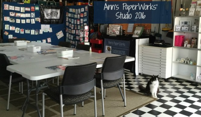 Ann's PaperWorks studio, Salisbury Brisbane, Ann's PaperWorks Ann Lewis Stampin' Up! (Aus)|Stampin' Up! 2016