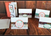 Stampin' Up! Ann's PaperWorks Ann Lewis #stampinup (Aus)|March card making class