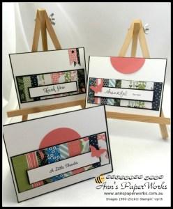 Pretty Petals Designer Series Paper Stack Scrap cards|Ann's PaperWorks| Ann Lewis| Stampin' Up! (Aus) online store 24/7| Brisbane