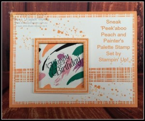 Sneak Peek Painter's Palette | Ann's PaperWorks| Ann Lewis| Stampin' Up! (Aus) online store 24/7