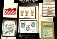 Christmas in July Creative Class Stampin' Up! Ann's PaperWorks Ann Lewis Stampin' Up! (Aus)|card clas