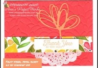 Fruit Stand DSP, Petal Burst E.F., Sunshine Wishes Thinlits, Ann's PaperWorks| Ann Lewis| Stampin' Up! (Aus) online store 24/7