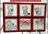 Pretty Kitty birthday card, 2016-17 Stampin' Up! Catalogue | Ann's PaperWorks| Ann Lewis| Stampin' Up! (Aus) online store 24/7