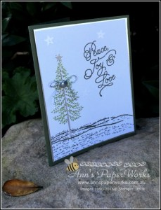 Thoughtful Branches Christmas card, CASE Dena Rekow, Ann's PaperWorks| Ann Lewis| Stampin' Up! (Aus) online store 24/7