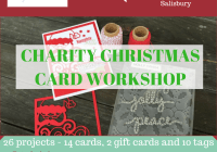 Crafty Paper Bees Christmas Charity Card Workshop Ann's PaperWorks Ann Lewis Stampin' Up! (Aus)| online store 24/7