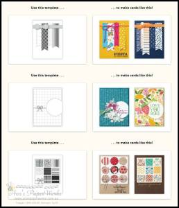 card sketches Ann's PaperWorks| Ann Lewis| Stampin' Up! (Aus) available from my online store 24/7