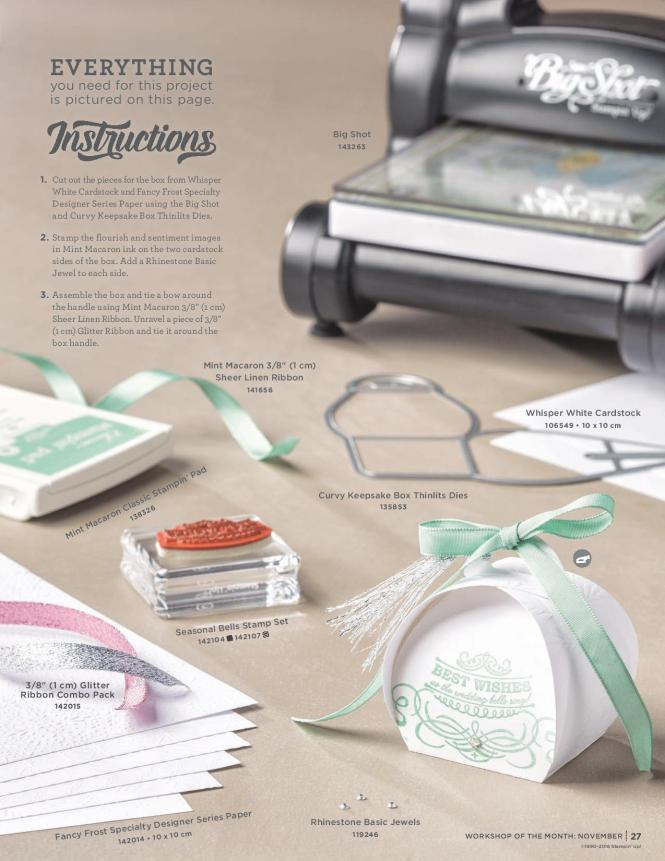 Seasonal Bells Wedding Favours by Stampin' Up!, Ann's PaperWorks  Ann Lewis  Stampin' Up! (Aus) available from my online store 24/7