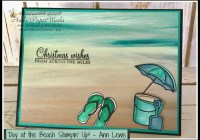 Day at the Beach, Stampin' Up! Ann's PaperWorks, Ann Lewis, Stampin' Up! (Aus)|Stampin' Up! 2016 Holiday Catalogue| online store 24/7