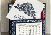 Floral Boutique Calendar Note Holder, Ann's PaperWorks  Ann Lewis  Stampin' Up! (Aus) available from my online store 24/7