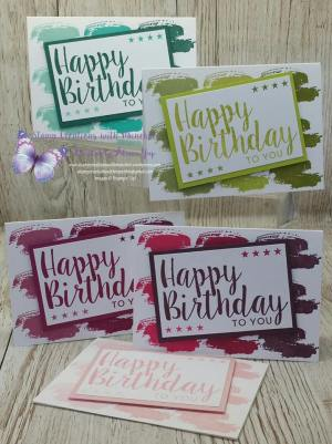 May Global Stampers Challenge, Alicia Yap May GSC Happy birthday Thinlits new In-Colors,