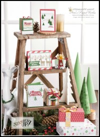 Be Merry Suite Stampin' Up!, Christmas in July Creative Class Stampin' Up! Ann's PaperWorks Ann Lewis Stampin' Up! (Aus) card class