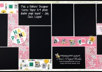 Pick a Pattern DSP, July Creative Class, 8-9 photo layout, Stampin' Up! Ann's PaperWorks Ann Lewis Stampin' Up! (Aus)|Scrapbooking/Project Life class