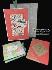 Fun Folds Technique Teaser Creative Class, Lift Me Up Stamp Set, Oh So Succulent DSP, Affectionately Yours DSP, Technique Teaser Sunday card class 2/16|Ann's PaperWorks| Ann Lewis| Stampin' Up! (Aus) online store 24/7