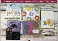September Painted Harvest Stamp Set, Detailed Gate Thinlits, Technique Teaser Creative Class, Stampin' Up! 2017 Christmas Holiday Catalogue Ann's PaperWorks| Ann Lewis| Stampin' Up! (Aus) online store 24/7