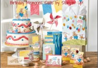 Birthday Memories Suite, Stampin' Up! 2017-18 Catalogue Ann's PaperWorks| Ann Lewis| Stampin' Up! (Aus) online store 24/7