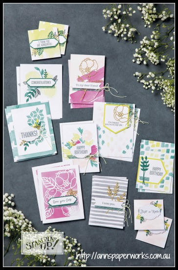 Soft Sayings All Inclusive Card Kit, Stampin' Up! 2017-18 Catalogue, favourite stampin' up! products, Ann's PaperWorks| Ann Lewis| Stampin' Up! (Aus) online store 24/7