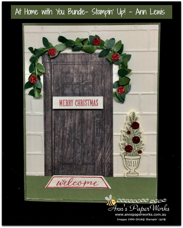 at home with you by stampin up, christmas card, Stampin' Up! 2017-18 Catalogue Ann's PaperWorks| Ann Lewis| Stampin' Up! (Aus) online store 24/7