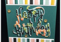 Happy Birthday Card, Whole Lot of Lovely DSP, Global Stampers, Blog Hop, Stampin' Up! 2017-18 Catalogue Ann's PaperWorks| Ann Lewis| Stampin' Up! (Aus) online store 24/7