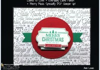 Labels to Love, Everyday Label Punch, Merry Music Specialty DSP, Stampin' Up! 2017 Christmas Holiday Catalogue Ann's PaperWorks| Ann Lewis| Stampin' Up! (Aus) online store 24/7