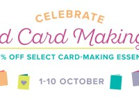World Card Making Day, Stampin' Up! Special offer, Stampin' Up! 2017-18 Catalogue Ann's PaperWorks| Ann Lewis| Stampin' Up! (Aus) online store 24/7