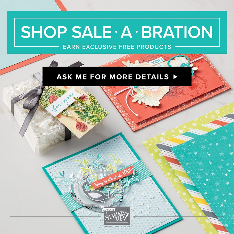 Sale-a-Bration, SAB, Ann's PaperWorks, Free stamp sets, special offers, Stampin' Up!, stampin up, Stampin' Up! Ann's PaperWorks, Ann Lewis, Stampin' Up! (Aus)|Stampin' Up! 2018 Occasions Catalogue| online store 24/7
