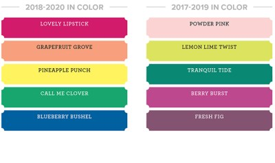 colour revamp, Stampin' Up! new colours, new ink pad design, store 24/7 Stampin' Up! 2018-19 Catalogue Ann's PaperWorks| Ann Lewis| Stampin' Up! (Aus) online store 24/7