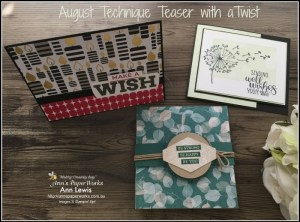 cardmaking class, handmade cards, Brisbane, Broadway Birthday Stamp Set, Natures Poem DSP, Rooted in Nature Stamp Set, Dandelion Wishes Stamp Set, Stampin' Up! 2018-19 Catalogue Ann's PaperWorks| Ann Lewis| Stampin' Up! (Aus) online store 24/7