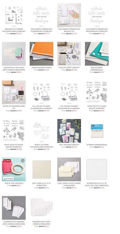 World Card Making Day, Stampin' Up! 2018-19 Catalogue Ann's PaperWorks| Ann Lewis| Stampin' Up! (Aus) online store 24/7