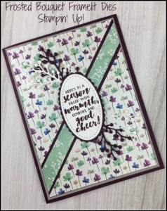First Frost bundle, Global Stampers Challenge, Holiday card, Christmas, handmade card, Stampin' Up! 2018 Christmas Holiday Catalogue Ann's PaperWorks| Ann Lewis| Stampin' Up! (Aus) online store 24/7