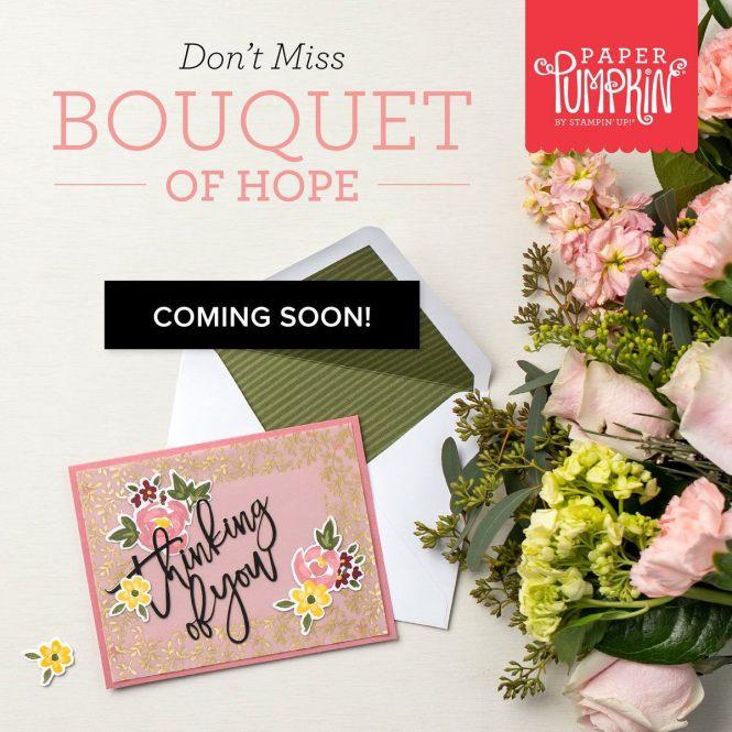 Bouquet of Hope Paper Pumpkin Kit,