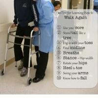 152.  10 Tips for Learning How to Walk Again