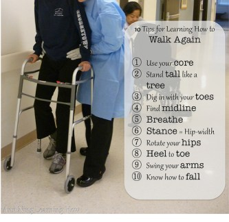 152. 10 Tips for Learning How to Walk