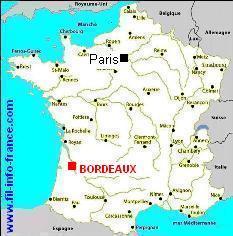 Vous Avez Cherch Bordeaux Carte De France Voyages Cartes
