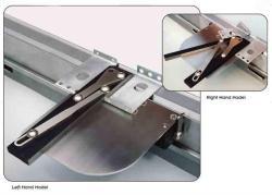 press brake magnetic squaring arm