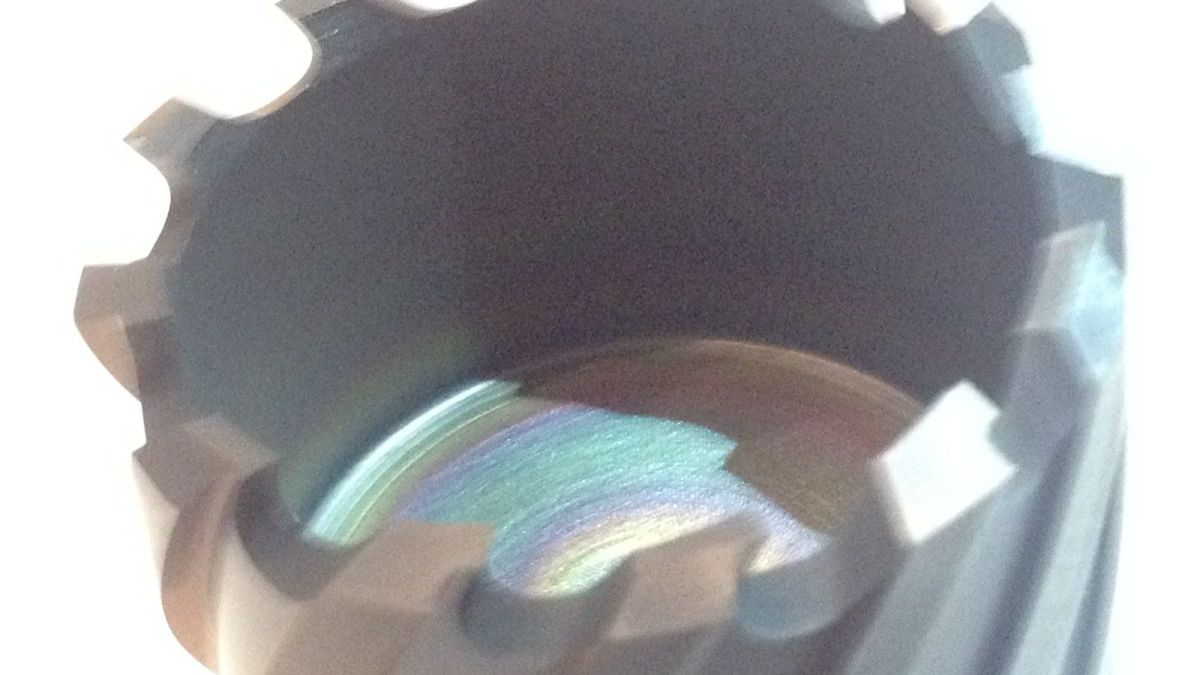 tialn coated mag drill bit