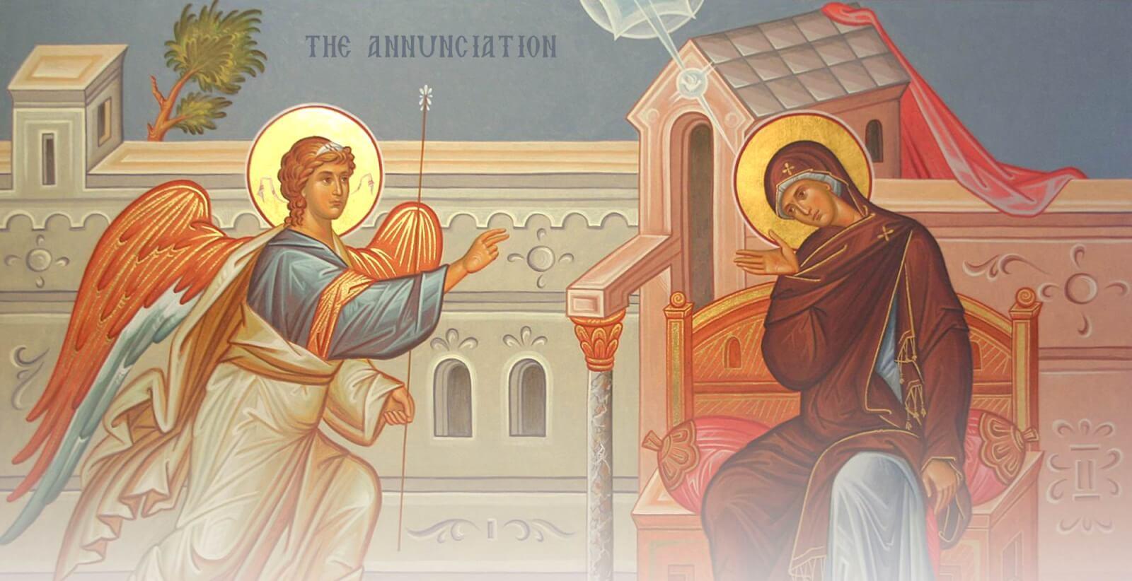 annunciation-icon