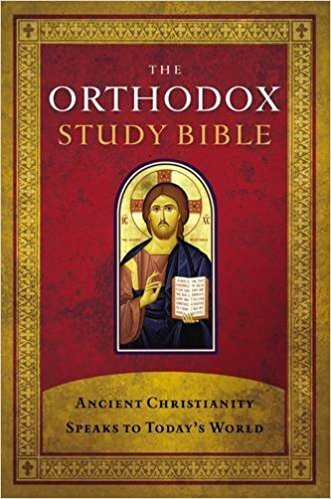 Orthodox Study Bible (Hardcover) - Annunciation Orthodox Christian Church