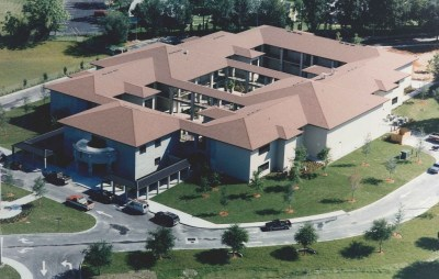 Original School aerial photo