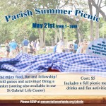 Parish Summer Picnic